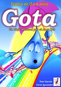 """Gota"""" Un viaje Musical por el Arcoiris (0 a 6 años)"""